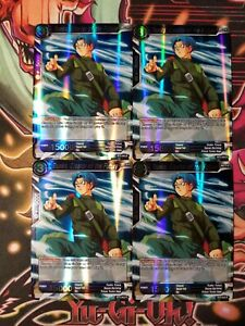 Details about Trunks, Creator of the Future 4x BT2-043 R Dragon Ball Super  PLAYSET