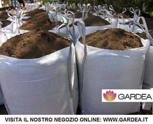 Terra vagliata da giardino 1000kg in big bag ebay - Prezzo terra da giardino al metro cubo ...