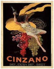 Cinzano, 1920 by Leonetto Cappiello Art Print Vintage Wine Dry Brut Poster 54x36