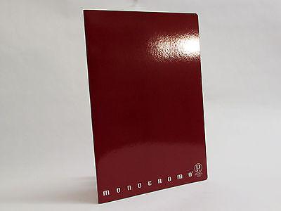 Inventivo Pigna - Monocromo - Bordeaux - Quaderno A4 - Rigo C (0c Riga 10 Mm E Margine) Pacchetti Alla Moda E Attraenti