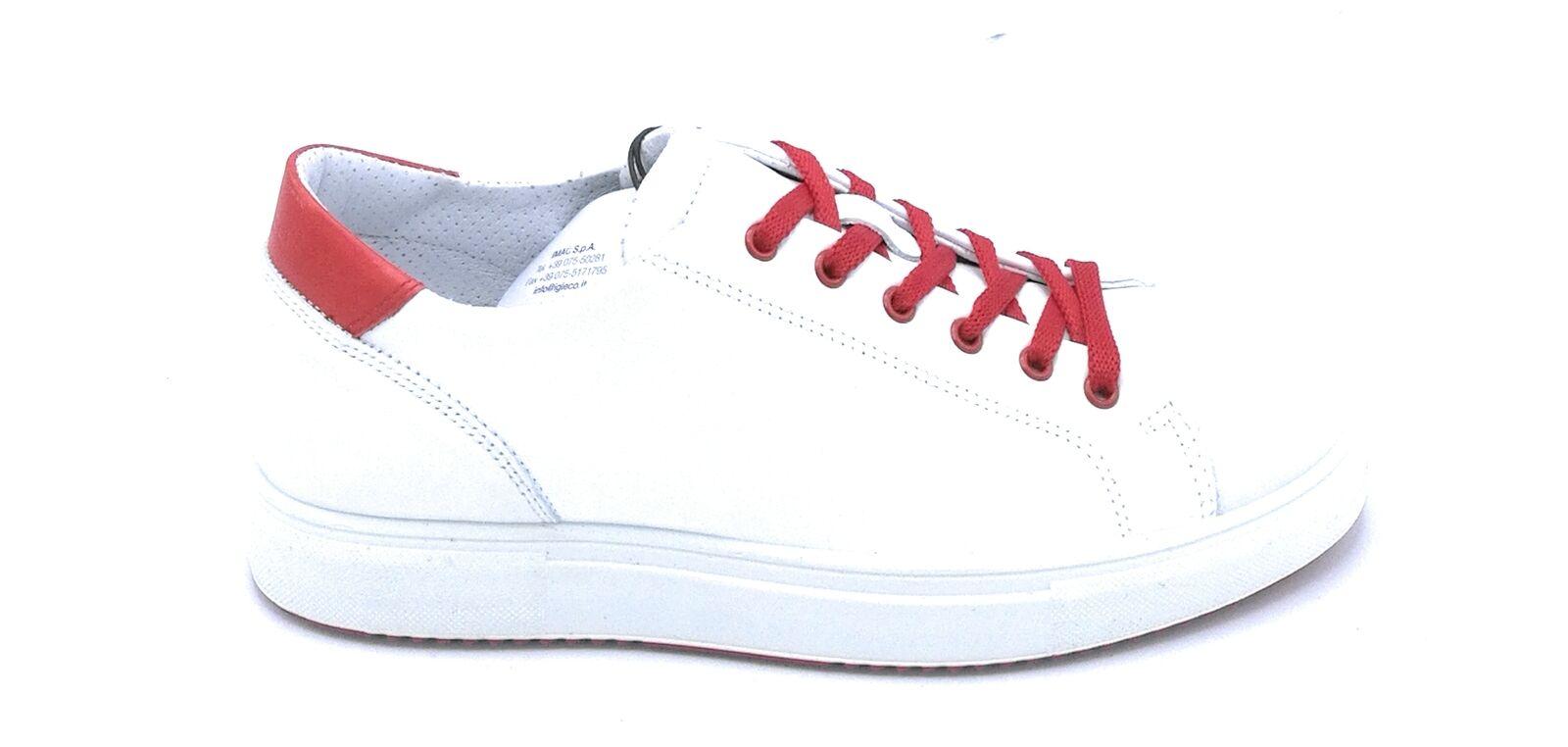 Igi e Co 3132700 zapatilla de deporte lacci nappa blancoo