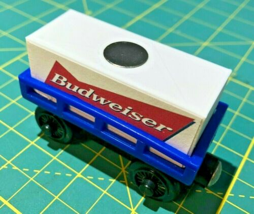 Thomas Train Shipping Cargo Container-Budweiser-Lakers-Nike-Jack Daniels-Magnet