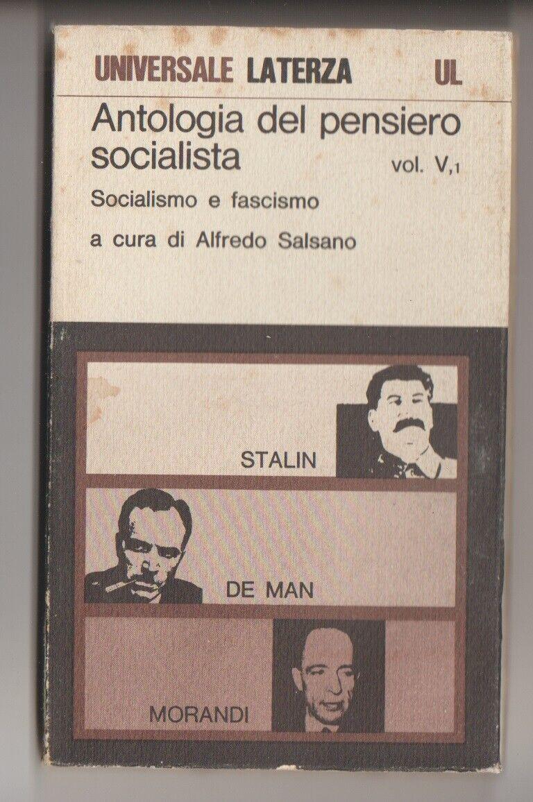 Antologia del pensiero socialista 5° vol. 4° parte