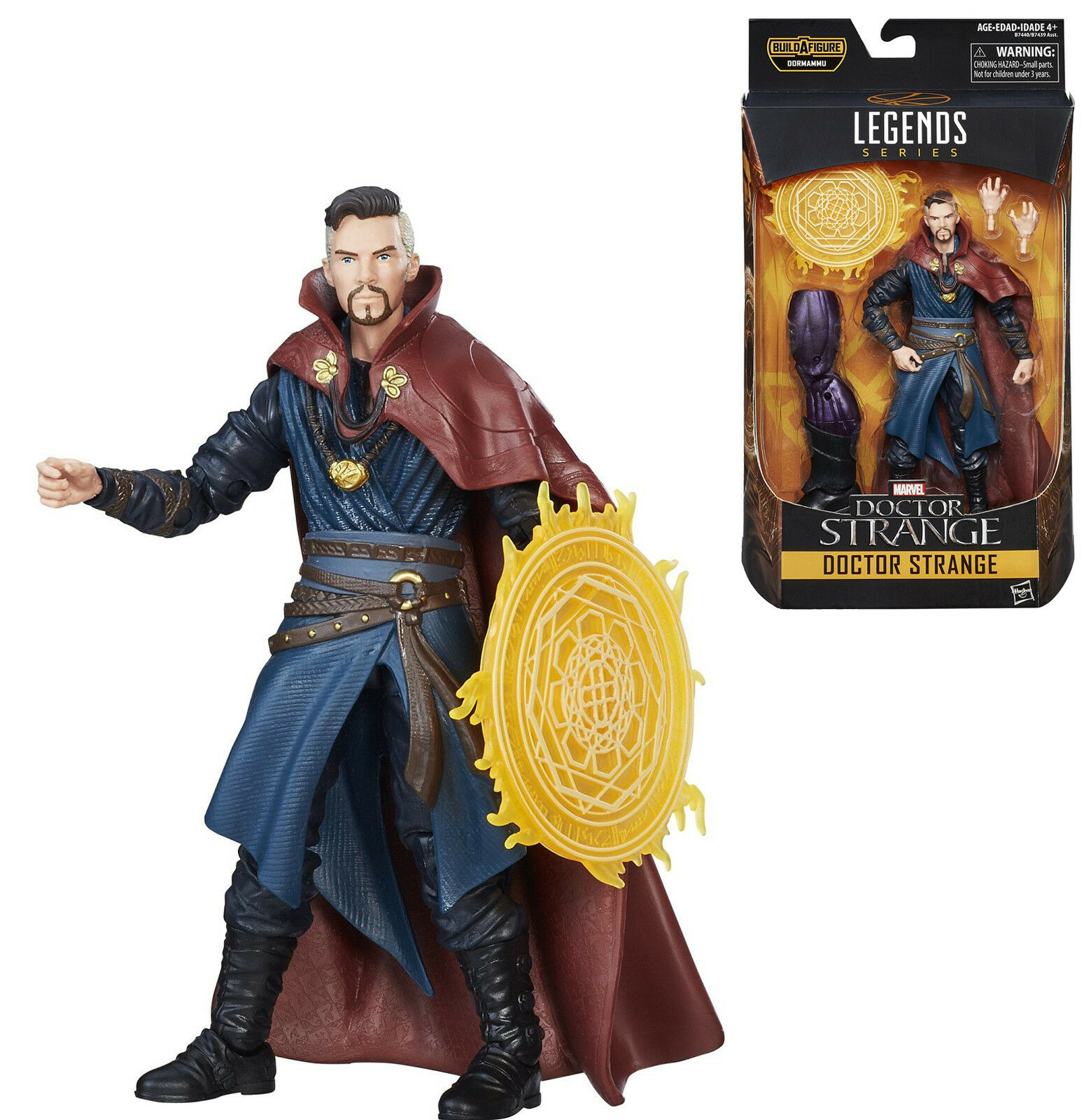 Marvel - legenden - (dr.) doktor seltsam kino - action - figur (dormammu baf welle)