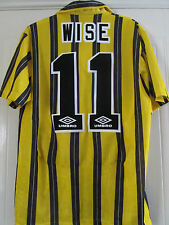 Chelsea 1993-1994 Wise 11 Third 3rd Football Shirt Medium Exc Condition /40195