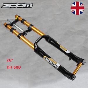 "US 26/"" ZOOM Suspension Fork 20mm Thru Axle Disc Brake 170mm Mountain Bike Forks"