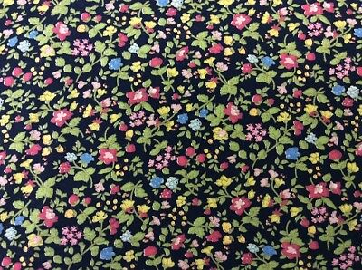 CTS411//3 FABRIC FREEDOM PATCHWORK//DRESS,CRAFT FABRIC MULTI FLORAL