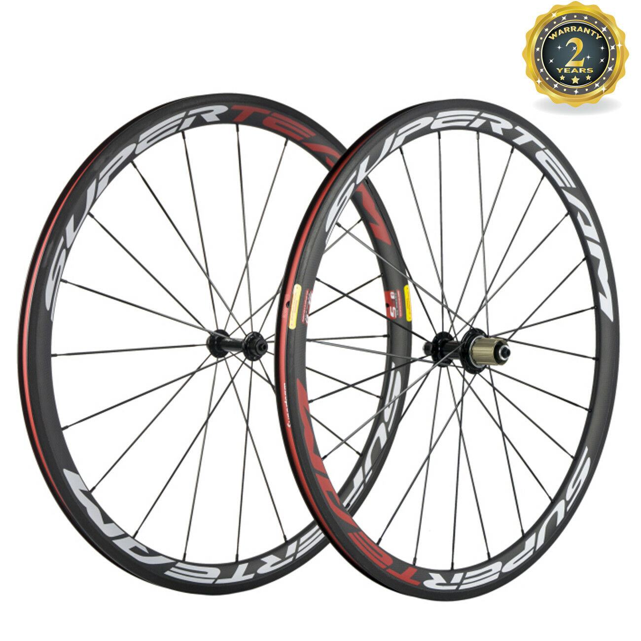 Superteam Bicycle Carbon Wheels 38mm Clincher Road Bike  Wheels R13 Hub 11 Speed  sale online discount low price