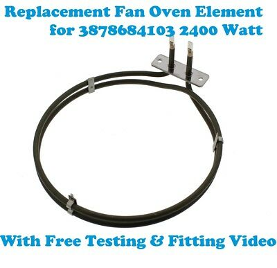 ZCV662MNC Replacement Aeg Zanussi Electrolux Fan Oven Element  2450W