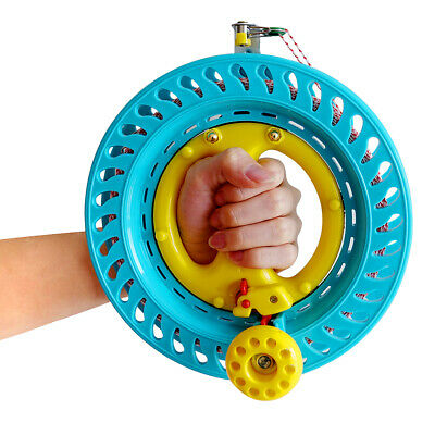 """Lockable Kite Reel Winder 8.7/"""" With 1000ft 70lb Dacron String for Delta Kite Fly"""