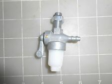GAS TANK PETCOCK MOPED SCOOTER ALUMINUM FUEL VALVE NOS VINTAGE FREE SHIPPING