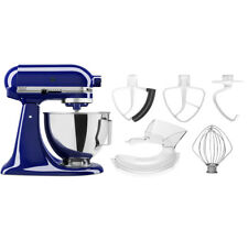 KitchenAid 4.5-qt 300W Tilt Head Stand Mixer w/ Flex Edge Beater
