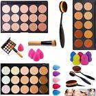 15 Farben Damen Pro Partei  Contour Face Cream Make-up Concealer Palette Set