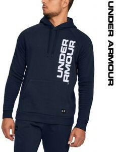 Under Armour UA Rival Fleece Script Men's Hoodie Lightweight Sports 1322028-408