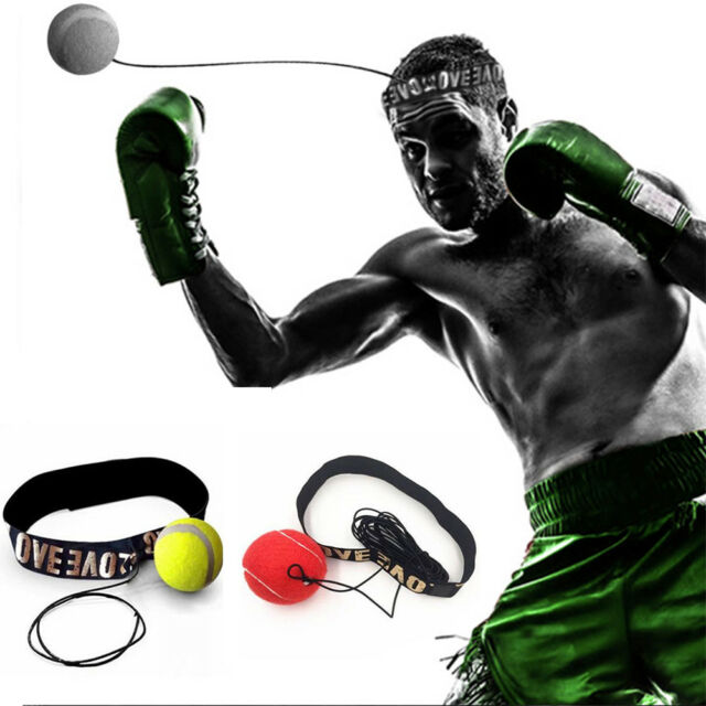 New Fight Ball With Head Band For Reflex Speed Training Boxing Punch Exercise