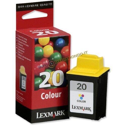 CARTUCCIA ORIGINALE LEXMARK 15M0120 N.20 LEXMARK DEX 3300 JETPRINTER Z705 P706