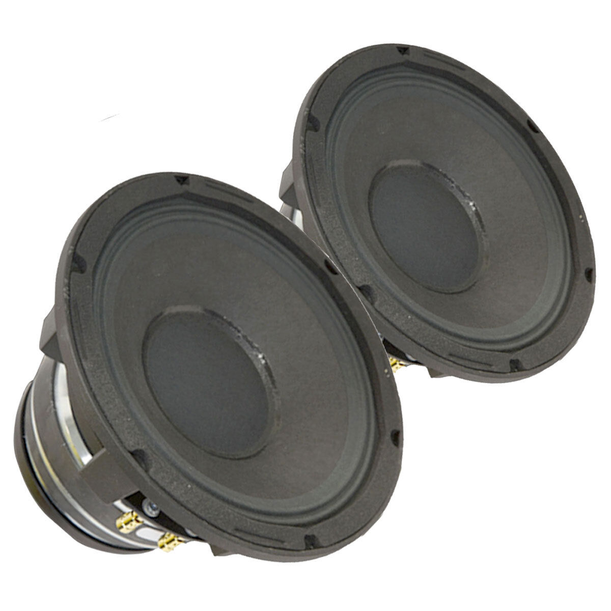 Pair Radian 5208C 2-Way Coaxial Speaker Woofer 8  16 Ohm 500 W RMS Replacement