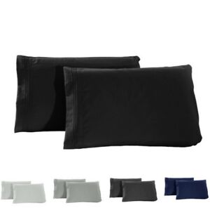 1800-Pillow-Case-Set-Queen-Standard-Size-King-Set-of-2-Pillowcases