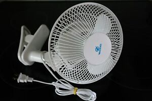 9-034-PORTABLE-2SP-OSCILLATING-TABLE-FAN-W-2-BASES-CLIP-ON-amp-WALL-MOUNT-OR-DESK