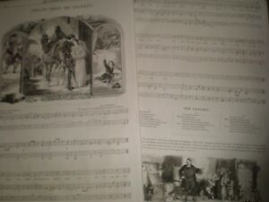 Old-Music-Sheets-The-Dangers-Charles-Mackay-Sir-H-R-Bishop-1856-ref-AT