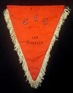 Fanion-insigne-Centre-d-039-Entrainement-Commando-23-RI-Fort-Les-Rousses