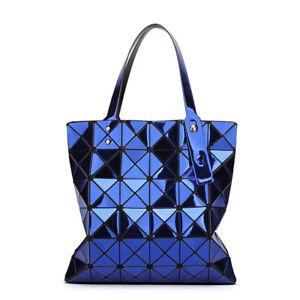 a619c2fb51e3 Mirror Laser Women Shoulder Bags Japan BAO Geometry Handbags Female ...