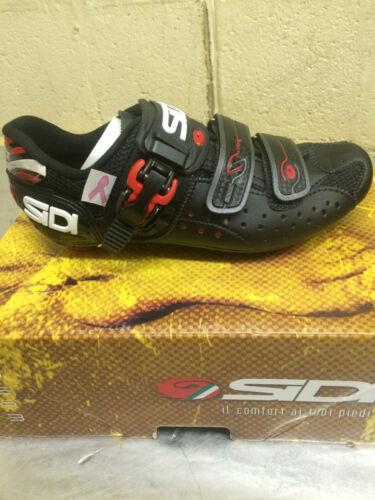 Sidi Genius 5 Women/'s Black Road Cycling Shoes