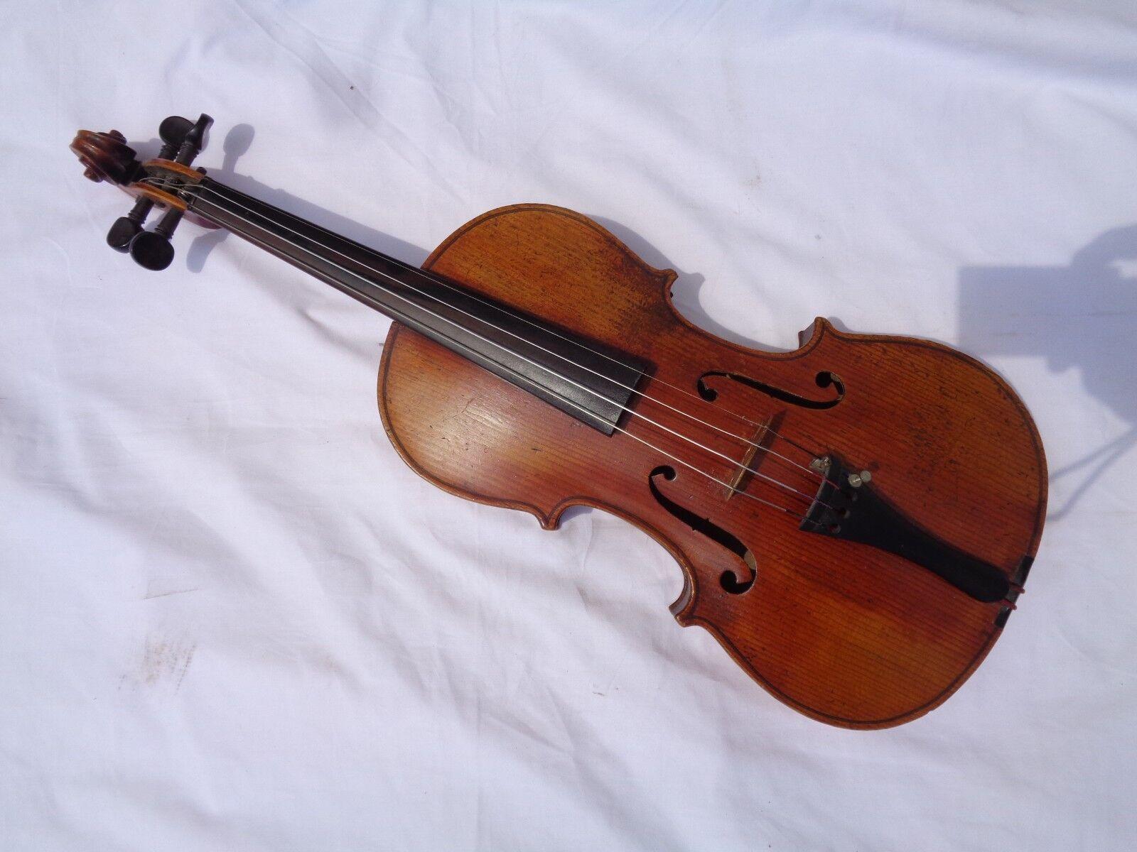 Alte Geige Violine Full Größe ca 59,5 cm Korpus 35,8 cm