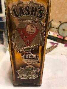 A Vintage Bitters Bottle Lash's Bitters Medicine Bottle