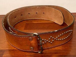 Vintage-60-039-s-70-039-s-Mid-Century-Metal-Design-Belt