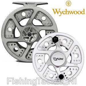 NEW-Wychwood-Flow-Fly-Reel-5-6-7-8-Full-Aluminium-Fly-Fishing-Reels