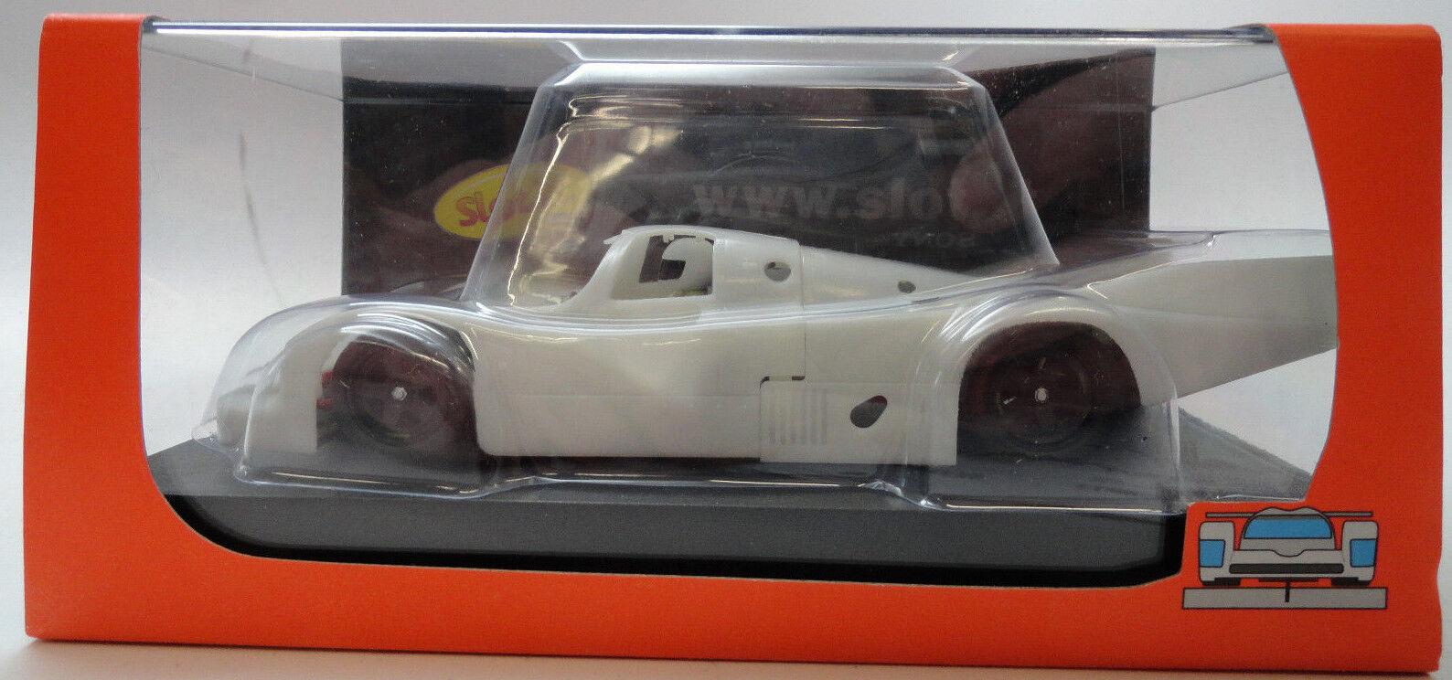 Slot It White Undecorated Porsche 956C LH 1 32 Scale slot Car CA02ZA