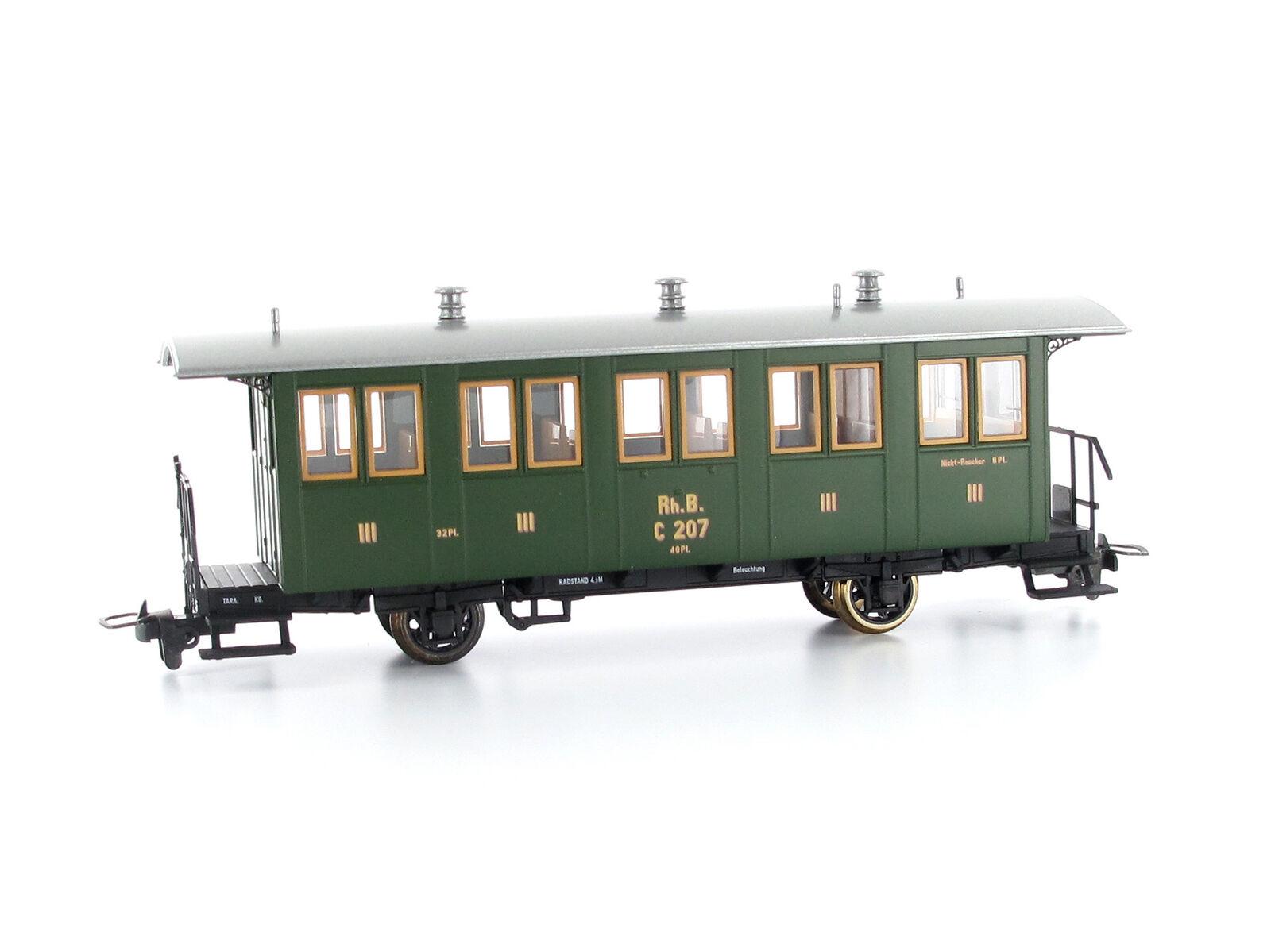 BEMO 3234127 vagoni c.207 RHB h0m