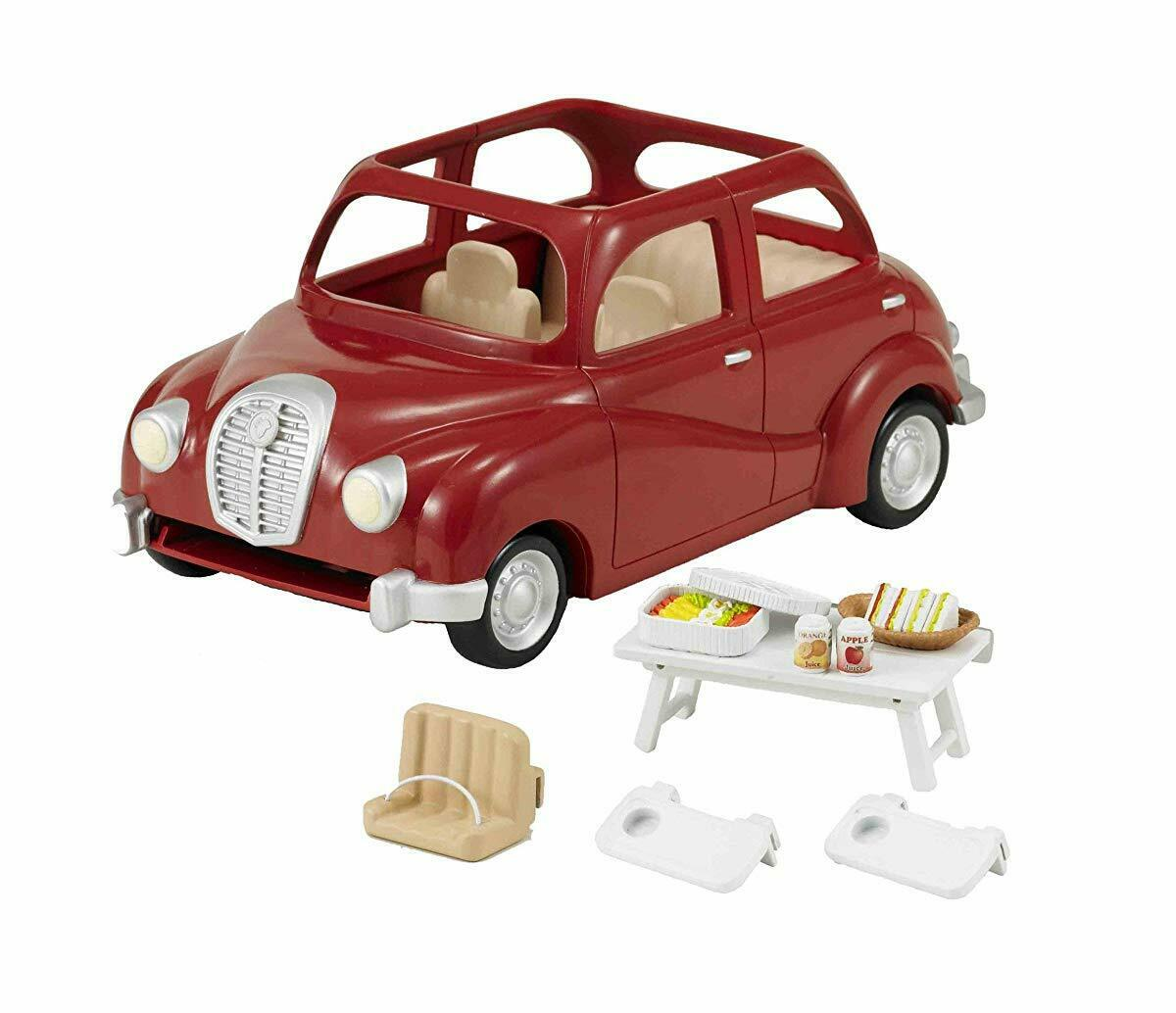 Sylvanian Families rot FAMILY CAR Epund Calico Critters