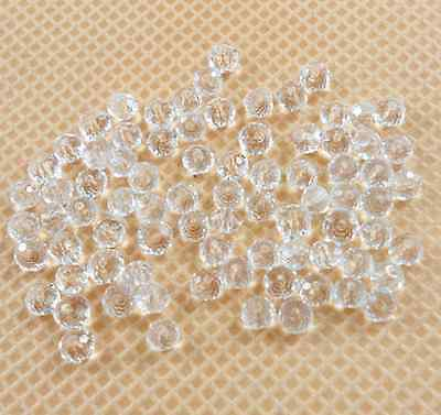 Wholesale 100Pcs New 12 Colors Crystal Loose Beads 4mm Free Ship