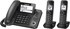 Panasonic KX-TGF382M Link2Cell Bluetooth Corded/Cordless Phone System 2 Handsets