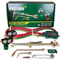 Victor Performer Torch Kit Set With Edge Regulators 0384-2045