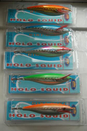 Totanara Octopus Squid Action Jig Tintenfisch G.3.0 Balancier 5X Holo