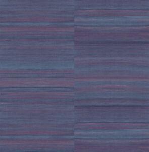 Tapete-Designtapete-VLIES-Praegetapete-Streifen-Schimmer-Aubergine-Blau