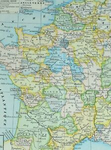 Map Of Normandy France Detailed.Details About 1905 Map France 1610 1789 Normandy Orleans Brittany Brussels Lorraine
