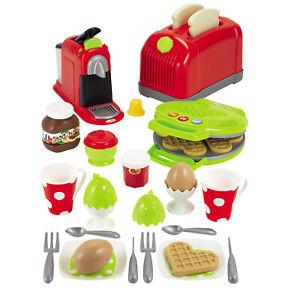 Details zu Spielzeug Toaster Kinder Waffeleisen Kaffeekanne für Spielküche  Küchenzubehör