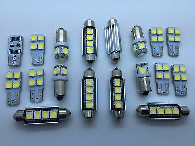 INTERIOR CEILING LED SMD Bulbs KIT WHITE CAN BUS fit AUDI Q7 2005-2009