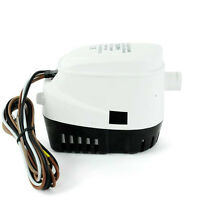750GPH 12V Automatic Bilge Pump With Internal Float Switch for Auto Water Boat