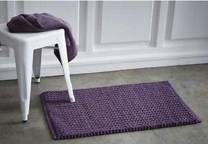 RéAliste Today Premium Basket Weave Tapis De 50 X 80 Cm Polyester & Coton Doux Tapis De Bain-afficher Le Titre D'origine