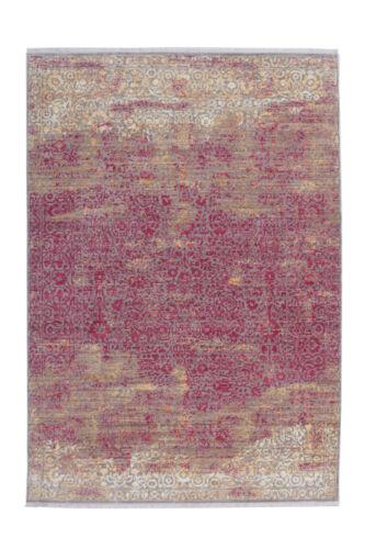 Arte Espina Teppich Modern Ornament Schnörkel Muster Vintage Pink 160x230cm