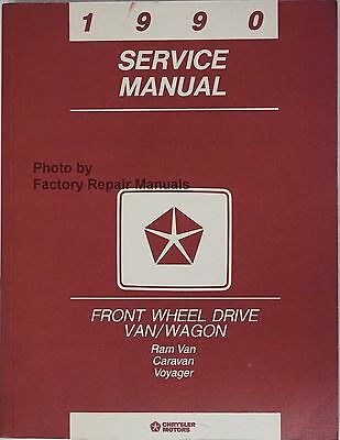 1990 Plymouth Voyager Owners Manual