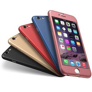 para-Apple-iPhone-6-6s-7-PLUS-ULTRA-FINO-360-Funda-Delgada-Dura