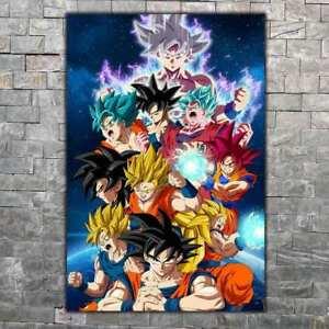 Tony Anime Art Silk Poster 8x12 12x18