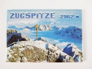 Zugspitze-Garmisch-Fridge-Foto-Magnet-Germany-Deutschland-Reise-Souvenir