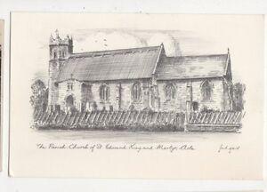 Parish Church Of St Edmund Acle Postcard 520a - Aberystwyth, United Kingdom - Parish Church Of St Edmund Acle Postcard 520a - Aberystwyth, United Kingdom